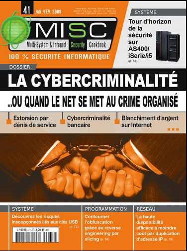 MISC : Dossier sur la cybercriminalité